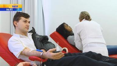 Banco de sangue de Lajeado precisa de doações no RS - Coletas estão cerca de 35% abaixo do esperado para o mês.
