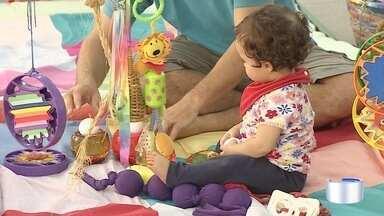 Sesc de Taubaté tem programação especial com brincadeiras para pais e filhos - Atividades fazem parte da Semana Mundial do Brincar