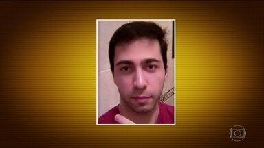 Corpo de fã morto após ameaçar apresentadora de TV é velado em Belo Horizonte - Segundo a polícia, o homem rendeu o empresário Gustavo Côrrea, cunhado da apresentadora Ana Hickmann, e o obrigou a ir até o quarto do hotel onde ela estava.