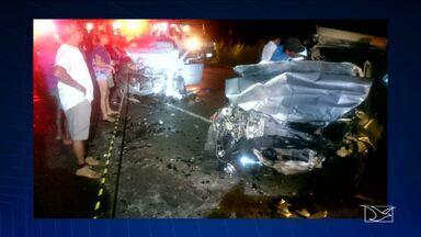 Bom Dia Mirante atualiza dados sobre acidentes nas rodovias do Maranhão - O repórter Marcial Lima fala dos acidentes nas rodovias do Maranhão e da fuga de adolescentes na Funac do Vinhais, em São Luís (MA).