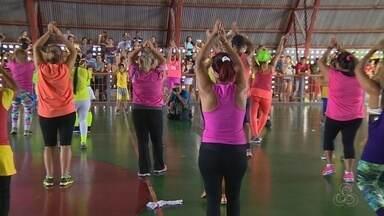 Festival desportivo reúne atletas em Manaus - Muitas atividades foram realizadas na Vila Olímpica da capital.