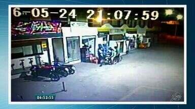 Frentista é atingido por tiro durante assalto em Sobral - Um jovem foi apreendido e outro suspeito segue foragido.