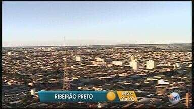 Previsão é de sol e tempo seco na região de Ribeirão Preto, SP - Meteorologistas preveem temperatura máxima de 25ºC.