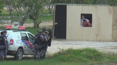 Equipes de segurança recebem treinamento para Olimpíadas no AM - Faltam 72 dias para início do evento.