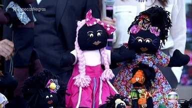 Lúcia, avó da MC Sofia, criou bonecas negras para exaltar a diversidade - Cristina Spinelli fala sobre documentário que mostra o trabalho de mulheres que criam bonecas negras para combater o racismo