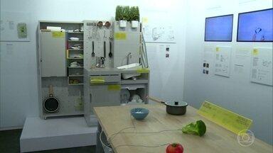 Cozinha do futuro promete extinguir fogão e geladeiras de residências - Planejada na Suécia, ideia pretende chegar as casas da Europa daqui a dez anos e é uma revolução em nome da simplicidade e da sustentabilidade.
