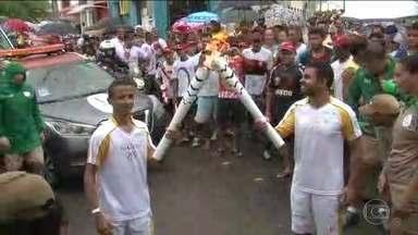 Tocha Olímpica chega em Sergipe no 27º dia de revezamento - O fogo sagrado está em seu oitavo estado brasileiro desde que começou o tour pelo país, em Brasília.