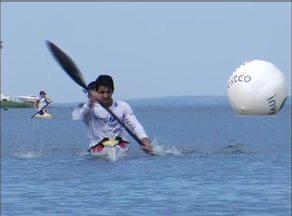 Praia da Graciosa recebe atletas do país inteiro para o Brasileiro de Canoagem - Praia da Graciosa recebe atletas do país inteiro para o Brasileiro de Canoagem