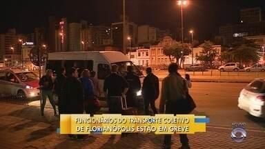 Transporte público da capital não está circulando na manhã desta terça-feira (31) - Transporte público da capital não está circulando na manhã desta terça-feira (31)