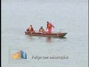 Bombeiros continuam buscas por homens desaparecidos no Rio Paraná - Corporação tem enfrentado dificuldades nos trabalhos em Paulicéia.