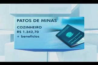 Sine divulga novas oportunidades em Uberlândia e Patos de Minas - Interessados devem levar documentos pessoas nas unidades do Sine. Confira as vagas disponibilizadas.