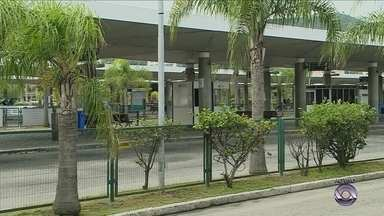 Ônibus do transporte coletivo da Grande Florianópolis não estão circulando nesta terça - Ônibus do transporte coletivo da Grande Florianópolis não estão circulando nesta terça-feira (31)