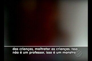 Professor acusado de abuso sexual contra crianças é preso no Pará - Duas meninas de sete anos foram vítimas de abuso na zona rural de Acará. Outras quatro crianças também denunciaram abusos cometidos por ele.