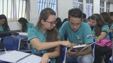 Estudantes se preparam para provas do Enem - Em Porto Velho, alguns alunos se esforçam para garantir uma vaga na faculdade.
