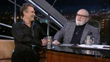 """Jô Soares entrevista Nelson Freitas - Ator fala sobre o espetáculo """"Nelson Freitas e Vocês"""""""