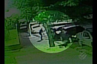 PF investiga o assalto a um policial que foi baleado no bairro de Batista Campos, em Belém - Peritos estiveram no local do crime na manhã desta quinta-feira (2) na tentativa de encontrar pistas.