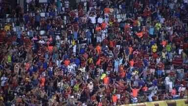 Sport vence Santa Cruz em Clássico das Multidões com gol de Edmilson - Jogo aconteceu no Arruda
