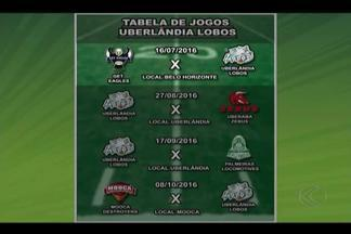 Uberlândia Lobos divulga datas dos jogos na Liga Nacional de Futebol Americano - Time de Uberlândia fará dois jogos em casa na primeira fase da LN de 2016