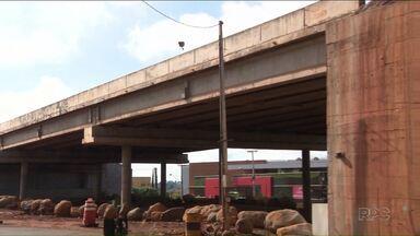 Viadutos com problemas em trecho duplicado da PR-445 deverão ser reparados em até 6 meses - Obras estão embargadas pela Justiça.