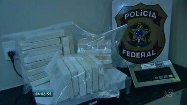 PF prende líder de quadrilha de tráfico de drogas em Fortaleza - Organização criminosa traficava cocaína entre Brasil e Paraguai.