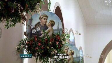 Celebrações religiosas em Barbalha marcam o inicio das comemorações a Santo Antônio - O santo é um dos mais populares do Brasil.