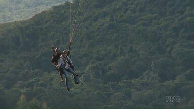 Região dos Campos Gerais ganha novo espaço para voo livre - André Salamucha nos mostra um passeio pelos ares de Ponta Grossa
