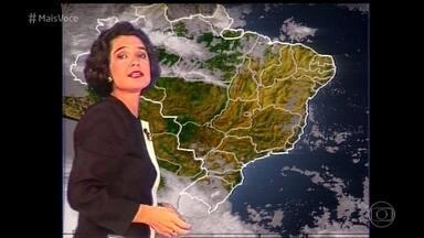 Sandra Annenberg foi a primeira apresentadora da previsão do tempo - Jornalista conta como funcionava a apresentação da previsão do tempo nos anos 90 e manda recado para Maria Júlia Coutinho