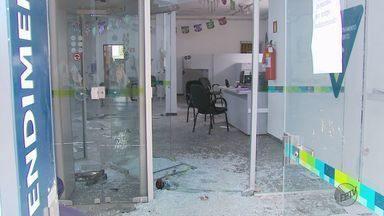 Câmeras flagram explosões de caixas eletrônicos em Santana da Vargem (MG) - Câmeras flagram explosões de caixas eletrônicos em Santana da Vargem (MG)