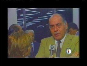 Ex- governador de Minas Gerais morre em Belo Horizonte - Hélio Garcia estava internado há uma semana com problemas pulmonares.