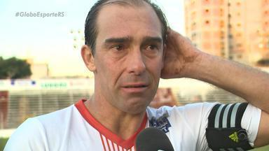 Paulo Baier se despede em jogo pelo primeiro time e projeta carreira de treinador - Ele fez seu último jogo no domingo (5), contra o U. Frederiquense.
