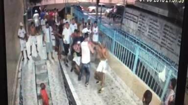 Após briga, torcida organizada do Bahia é proibida de assistir jogos do time - Decisão da Polícia Militar começa a valer a partir da próxima sexta-feira (10), quando o time enfrenta o CRB em Pituaçu, e dura seis meses.