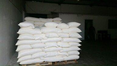 13 toneladas de trigo são apreendidas em empresa de Cascavel - O trigo foi comprado por uma empresa fantasma. Uma pessoa foi presa.