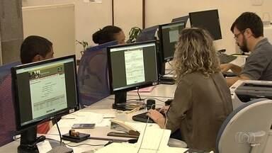 Goianos não conseguem tirar novas carteiras de trabalho - Sistema, que deveria ter voltado a funcionar nesta segunda-feira (6), mas não está operando.