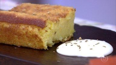 Bolo de Fubá e Milho - Receita não leva farinha de trigo e é deliciosa!