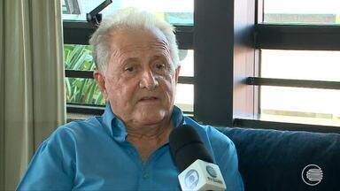 Aos 90 anos, ex-jogador do River-PI conduzirá Tocha Olímpica em Teresina - Aos 90 anos, ex-jogador do River-PI conduzirá Tocha Olímpica em Teresina