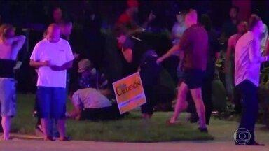 Noite latina em boate de Orlando termina em tragédia com 50 mortos - Uma testemunha contou que viu Omar Mateen chegar de carro e fazer as primeiras vítimas ainda na rua, em frente à boate Pulse.