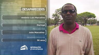 Moradores da região de Maringá procuram por parentes desaparecidos - Se você souber de algo, ligue para o (44) 3218-6449.