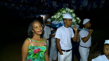 Moradores da Ilha do Massangano homenagearam Santo Antônio - O Santo é padroeiro da comunidade.