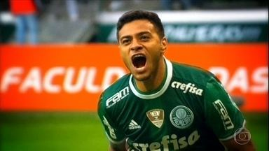 De bem com a vida, Cleiton Xavier quer manter boa fase no Palmeiras - De bem com a vida, Cleiton Xavier quer manter boa fase no Palmeiras