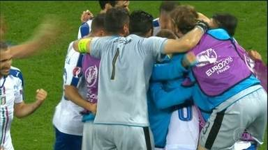 Itália vence a Bélgica na estreia da Eurocopa - Itália vence a Bélgica na estreia da Eurocopa