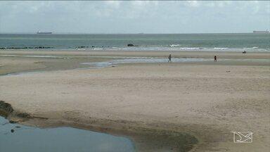 Praias em São Luís continuam impróprias para o banho - Praias em São Luís continuam impróprias para o banho.