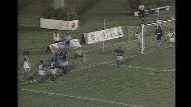 Em 1996, Cruzeiro goleia o Vasco em São Januário e depois empata no Independência - Time celeste se classifica para a próxima fase da Copa do Brasil