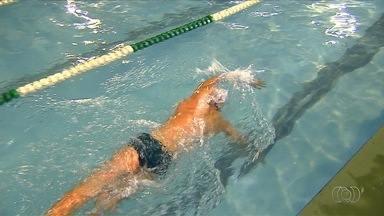 Goiano brilha no Torneio Centro-Oeste de Natação - Em Campo Grande, Matheus Furtado conquista medalhas e diz que competição foi bem equilibrada.