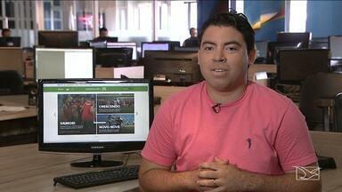 Confira os destaques do GloboEsporte.com - GloboEsporte.com mostra os detalhes da passagem da Tocha Olímpica no Maranhão, além da preparação do Sampaio para o novo desafio fora de casa, pela Série B