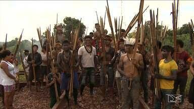 Índios liberam estrada de ferro e viagens voltam ao normal no MA - Índios liberam estrada de ferro e viagens voltam ao normal no MA