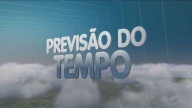Temperatura começa a subir nesta quarta-feira na região - Temperatura começa a subir nesta quarta-feira na região de Campinas (SP). A mínima deve ficar na casa dos 9ºC.