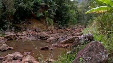 Estiagem preocupa moradores e causa prejuízo em Santa leopoldina, no ES - Nos últimos dois anos, a agropecuária acumula prejuízo de R$ 57 milhões.