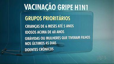 Umuarama registra onze casos de gripe H1N1 - E mesmo com o fim da campanha de vacinação contra a gripe, ainda estão disponíveis doses da vacina nos postos de saúde da cidade.