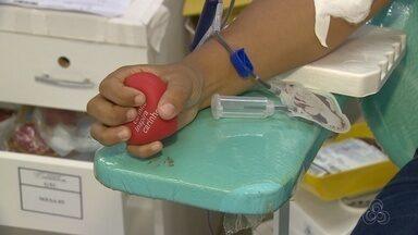 Ações incentivam doação de sangue em Manaus - Hemocentro de Manaus precisa renovar estoques.