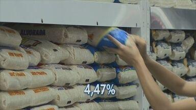 Preço do arroz em Porto Velho subiu quase 5% em maio - Aumento está relacionado à exportação do produto, segundo Dieese.